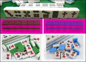 China Infrared  Marked Mahjong Cheating Devices Normal Size Gambling Accessories supplier