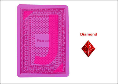 Normal Size Poker Cheating Device / Plastic Playing Cards ISO 9002 Approved